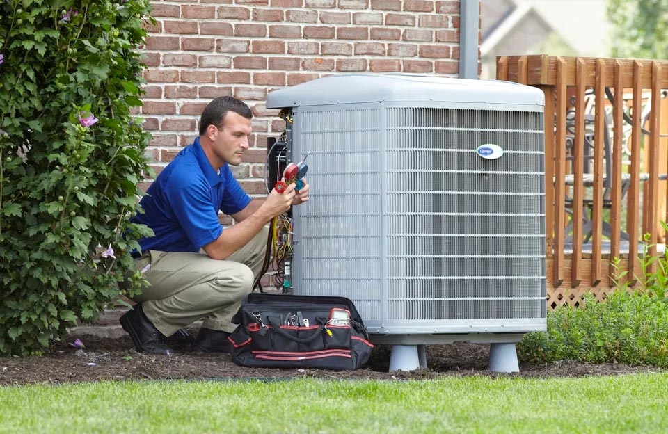 Atwood HVAC Dealer installing Rent-to-Own system