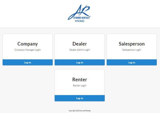 Atwood Rentals HVAC Financing Alternative Web Portal